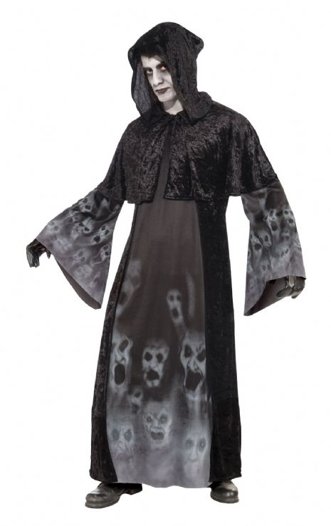 Adults Halloween Forgotten Souls Costume Trick Or Treat Fancy Dress Outfit